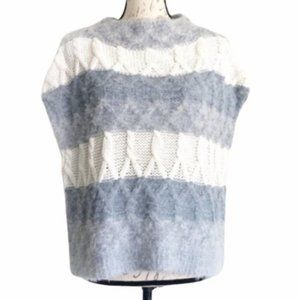 Melrose and Market Fuzzy Sweater Sz M NWOT
